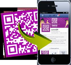 QR kode til facebook | zumoQR - DK